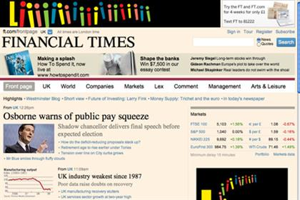 FT: group revenue increased 10% in the first nine months of the year