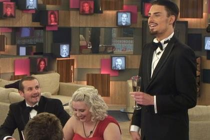 Celebrity Big Brother: won by by Rylan Clark, right