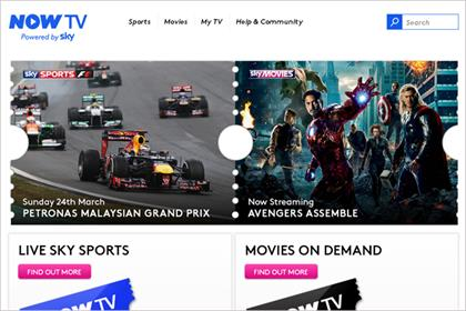 Now TV: rolls out Sports subscription
