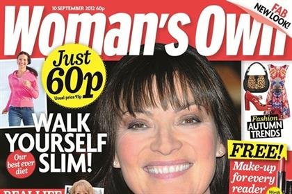 Woman's Own: revamps its print edition and launches standalone website
