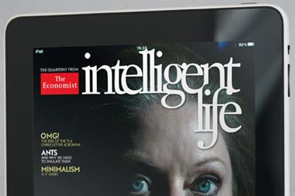 The Economist: launches Intelligent Life via iPad