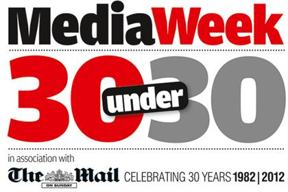 Media Week's 30 Under 30: in association with The Mail on Sunday