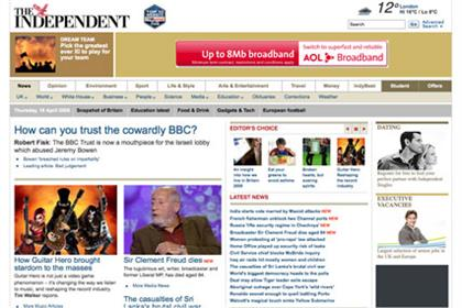 Independent: new online video player