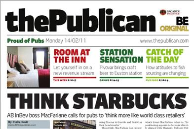 The Publican: sold by UBM earlier this year