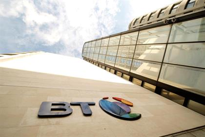 BT: revenue down despite increase in BT Vision customers
