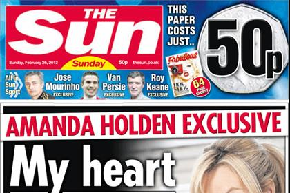 The Sun Sunday: debuts at 3.26 million