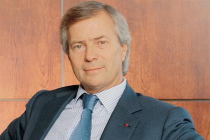 Vincent Bollore: Havas chairman holds 26.5% stake in Aegis Group