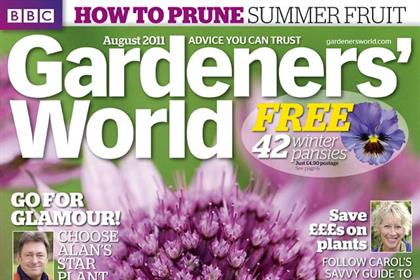 BBC Gardeners' World: circulation increase follows March redesign