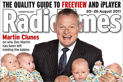 Radio Times: drops 4.9% year on year