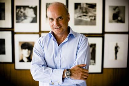 Nicholas Coleridge: named president of Cond Nast's international operations