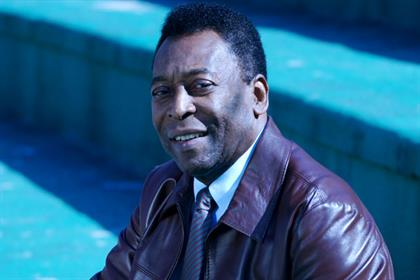 Pelé: has four-year global partnership deal with MediaCom Sport