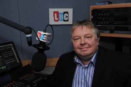 Nick Ferrari: in the running for a BPG Award