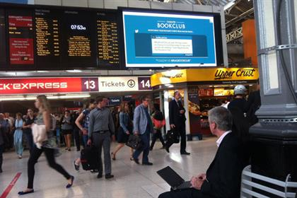 JC Decaux: launches @RailBookClub at rail stations around the UK