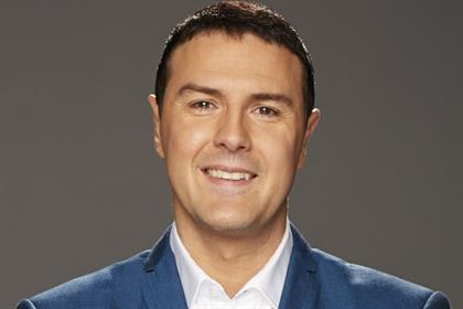 Paddy McGuinness: to present show on Bauer Radio's northern regional stations