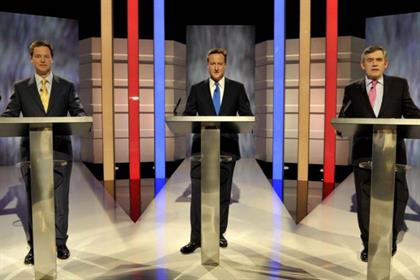 2010: party leaders' TV debate