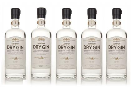 The Times London Dry Gin: the newspaper's first foray into exclusive own-label drinks
