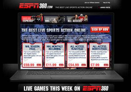 ESPN360.com: new online video player
