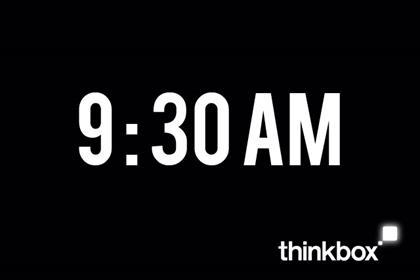 Thinkbox's TV Futures event