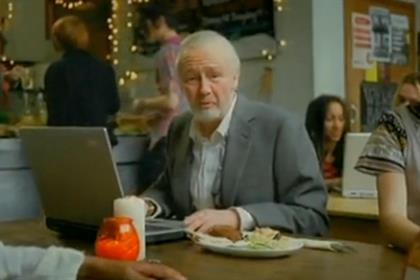 Silver surfers: targeted recently by Aviva with its Paul Whitehouse campaign