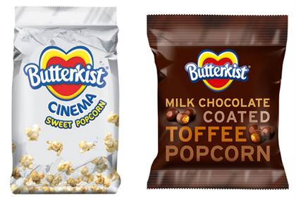 Butterkist: unveils new flavours