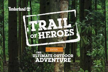 Timberland: Trail of Heroes geocaching campaign takes in six cities