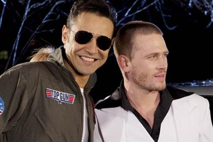 Chico and Matthew Wolfenden: Dancing on Ice contestants