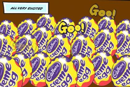 Cadbury: prepares for Creme Egg season