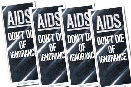 The 'don't die of ignorance' leaflets that went to all British households in 1987
