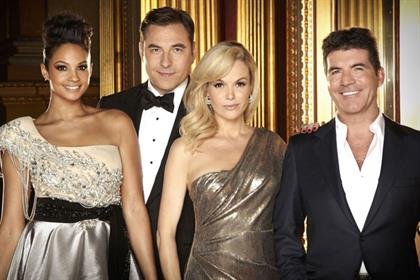 Britain's Got Talent: judges Alesha Dixon, David Wallims, Amanda Holden, Simon Cowell