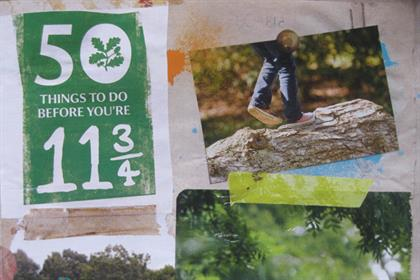 National Trust: evoking the joys of the outdoor life for children