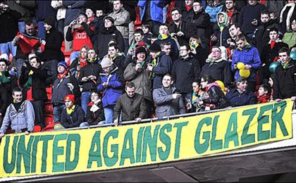 Manchester United: fans oppose Glazer ownership