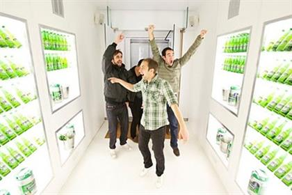 Heineken: 'walk-in fridge' campaign