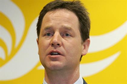 Nick Clegg: more Facebook fans than other parties