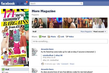 More: magazine's Facebook fans are invited to help create the June 14 issue