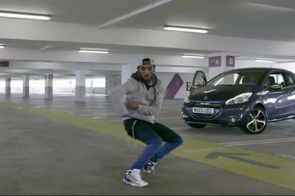 Peugeot ad: Marquese Scott aka Nonstop stars in video promoting 208 model