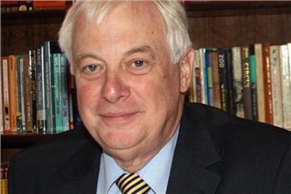 Chris Patten: the DCMS' choice for BBC Trust appointment