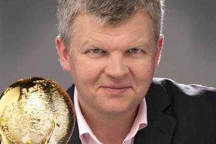 Adrian Chiles: presenter of ITV's World Cup coverage