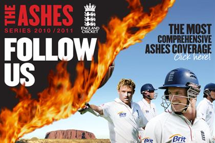 ECB: 'follow us' Ashes camapign