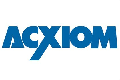 Acxiom: kicks off information search
