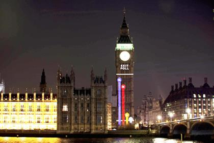 Big Ben: BBC election projection
