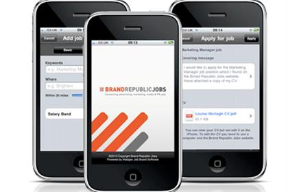 Brand Republic Jobs: app now available from the Apple Store