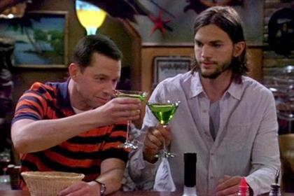 Two and a Half Men: Ashton Kutcher helped boost Comedy Central's viewing figures