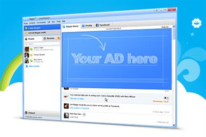 Skype: displays its new ad platform