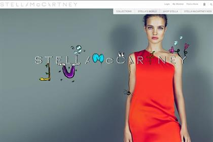 Stella McCartney: launches UK e-commerce site