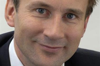 Jeremy Hunt: to outline plans for local news coverage