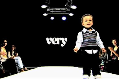 Very: 'work it baby' catwalk show