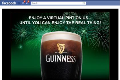 Guinness: creates augmented reality Facebook app