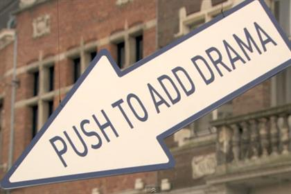 TNT: 'push to add drama' campaign