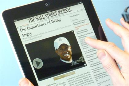 Wall Street Journal: News Corp title's iPad app