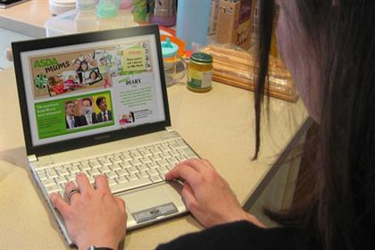 Online mums: 61% have bought their grocery shop online